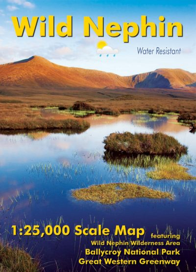 The cover of the Wild Nephin 1:25,000 Scale Map published by EastWest Mapping.