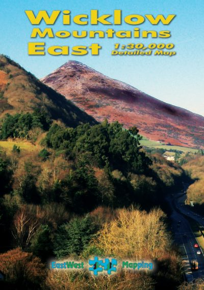 The cover of the Wicklow Mountain East map published by EastWest Mapping.