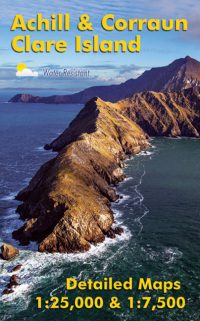 The cover of the Achill & Corraun Clare Island Map published by EastWest Mapping.