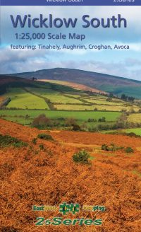 The cover of the 25 Series Wicklow South 1:25,000 Scale Map published by EastWest Mapping.