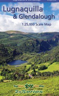 The cover of the 25 series Lugnaquilla & Glendalough Map published by EastWest Mapping.