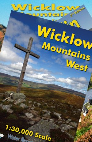 Set of Three 1:30,000 North Wicklow Maps