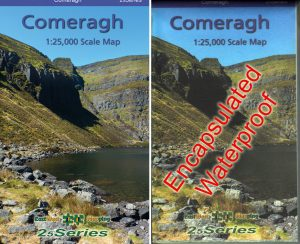 Comeragh 1:25,000 Scale Map
