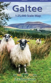 The cover of the 25 series Galtee map published by EastWest Mapping.