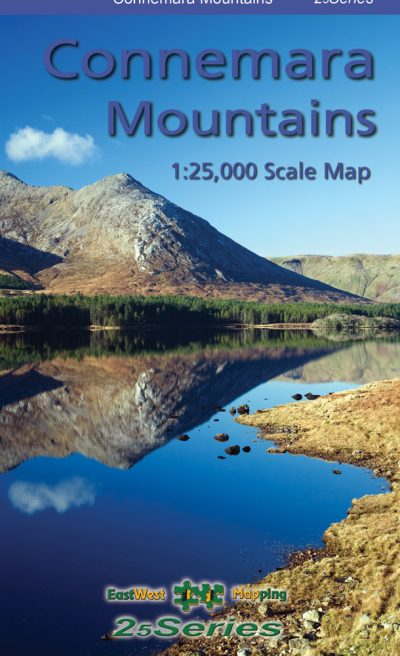 The Connemara Mountains 25 series map published by EastWest Mapping.