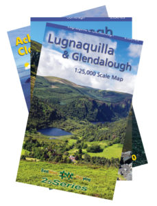 The EastWest Mapping Lugnaquilla and Glendalough 25 Series map.