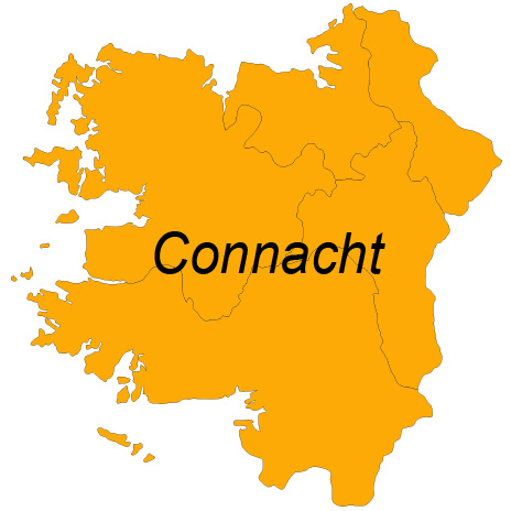 The Connacht shop page for the EastWest Mapping website