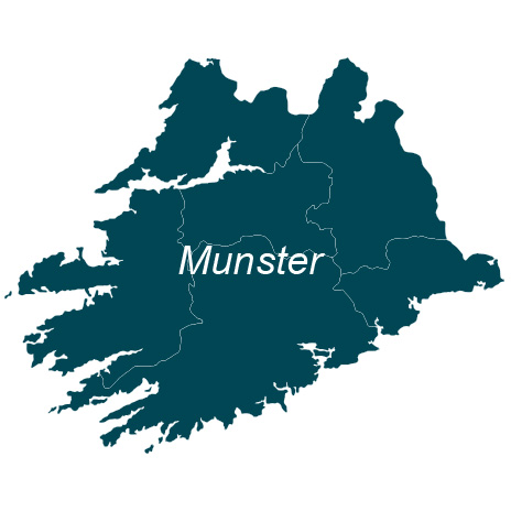 The Munster shop page for the EastWest Mapping website