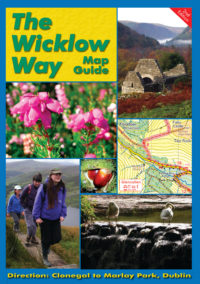 The Wicklow Way Map Guide leading from Clonegal to Marlay Park, Dublin.