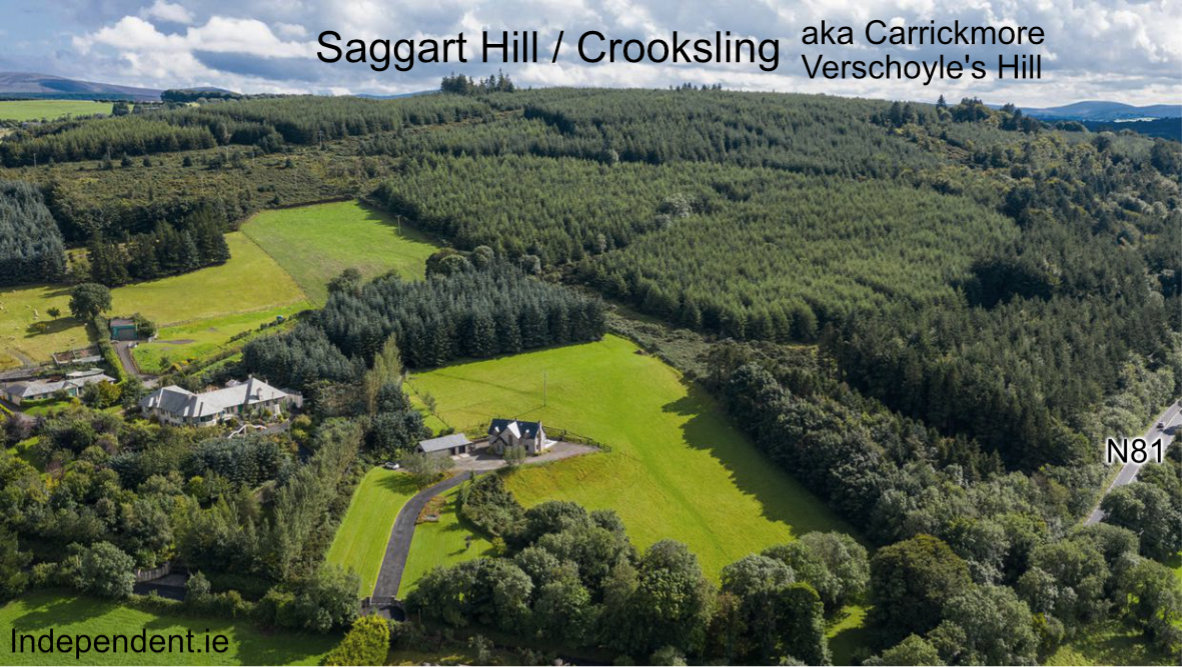 Where is Saggart Hill?