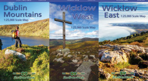 Set of Three 1:25,000 North Wicklow Maps