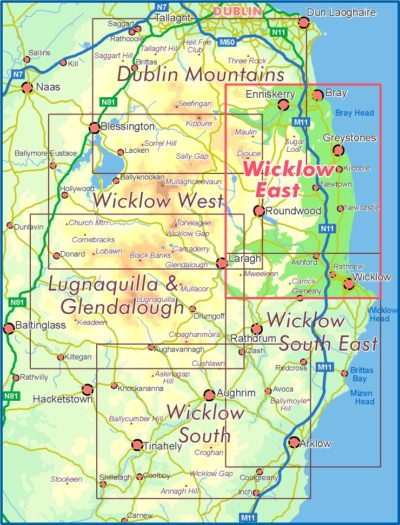 Wicklow East Location Map