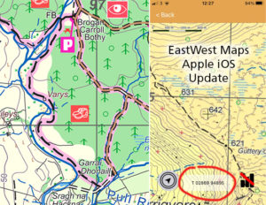 EastWestMaps Mobile Map Updates