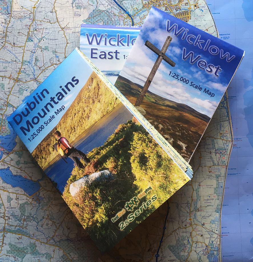 New Dublin & Wicklow Maps