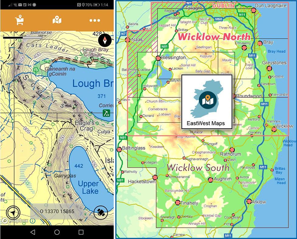 North Wicklow Digital Map Update
