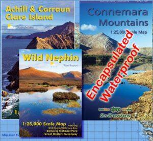Set of Three Connacht Maps